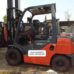 Toyota Forklift 2.5 Ton