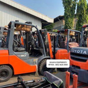 Toyota Forklift 3 Ton Harga Terbaru 2020