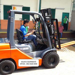 Pusat Forklift Toyota Murah Cilegon