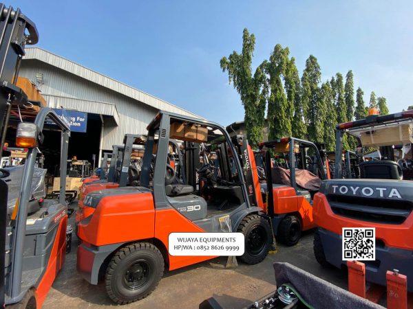 Harga Forklift Toyota 3 Ton Terbaru