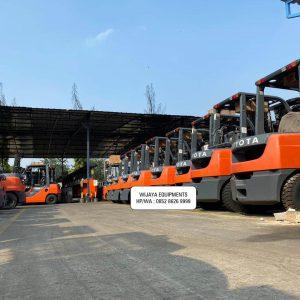 Toyota Forklift Harga Murah & Gratis Ongkir