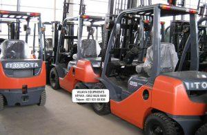 Forklift Toyota Stock