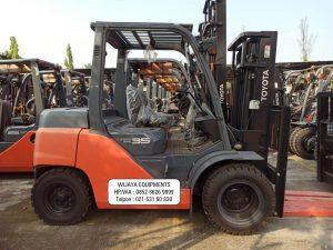 Harga Forklift Toyota 3ton Baru